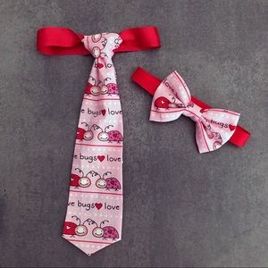 Infant/a Toddler/Youth Valentines Bow Tie